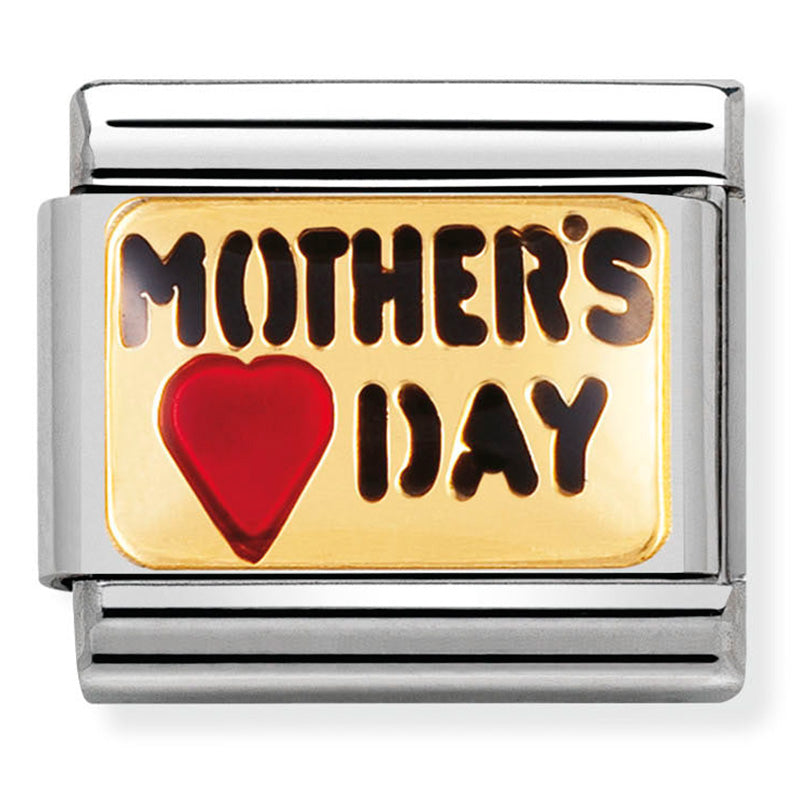 Mother's Day Gold Charm