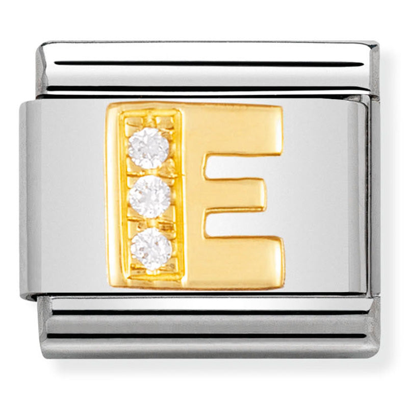 Nomination 030301/05 Letter E in Gold