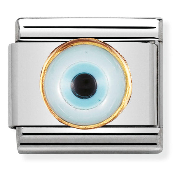 Nomination Greek Eye Gold Charm