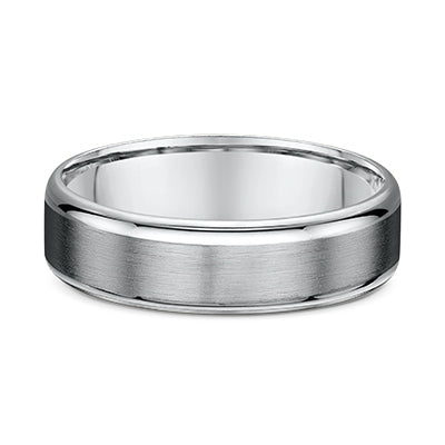 Silver Titanium 6mm Wedder Band