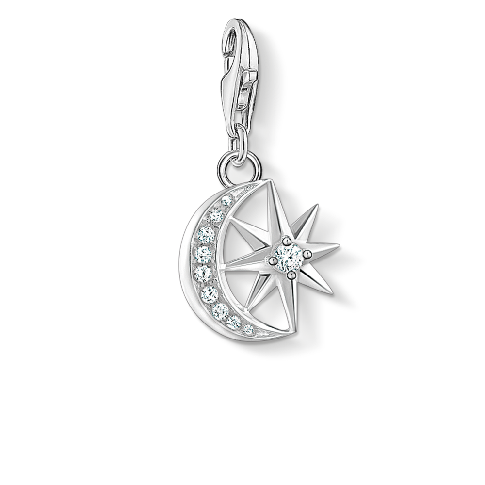 Star and Moon Charm