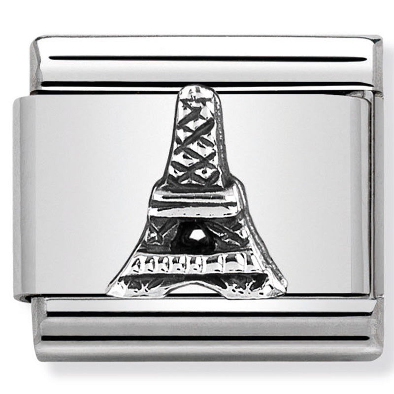 Nomination 330105/32 Eiffel Tower Silver Charm
