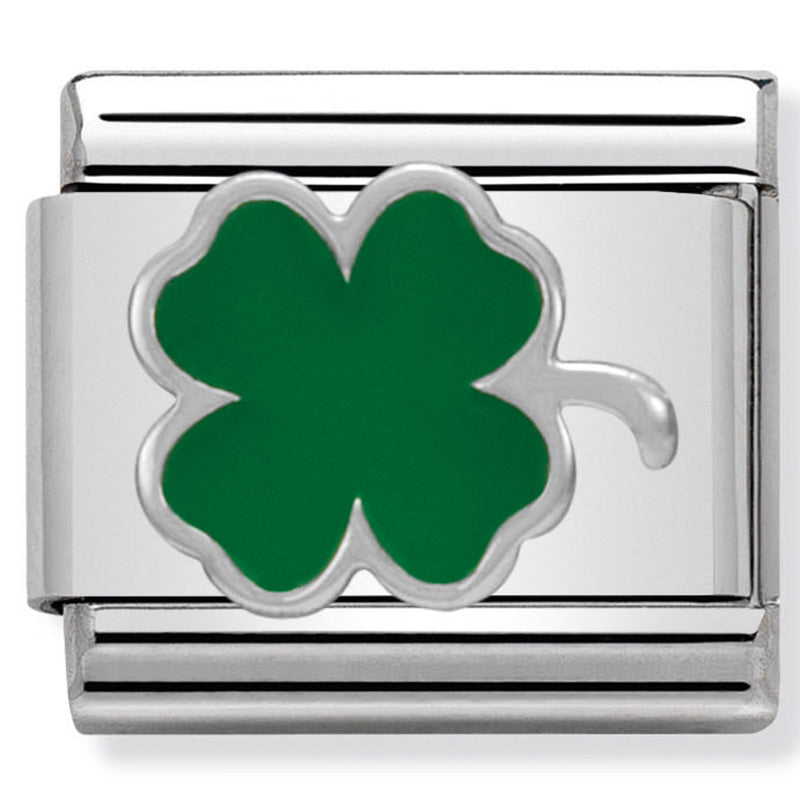 Green Clover Charm