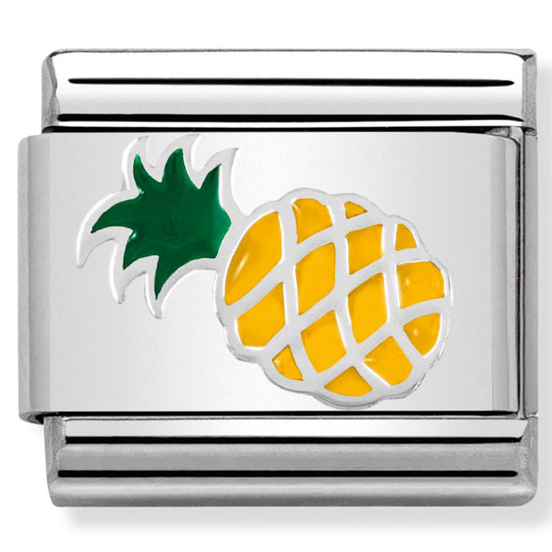 Nomination Pineapple Silver Charm