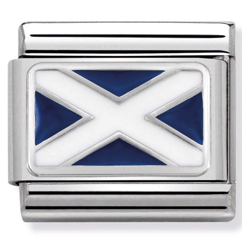 Nomination 330207/01 Scotland Flag Charm