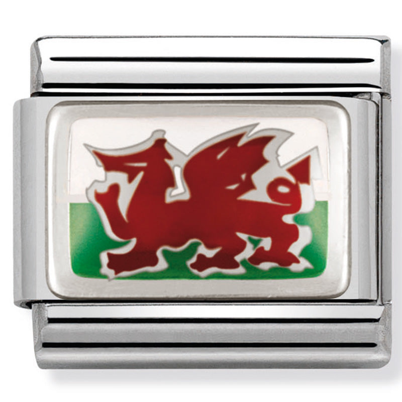 Nomination 330207/02 Wales Flag Charm