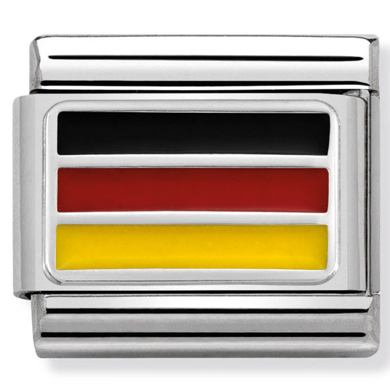 Nomination Germany Silver Flag Charm