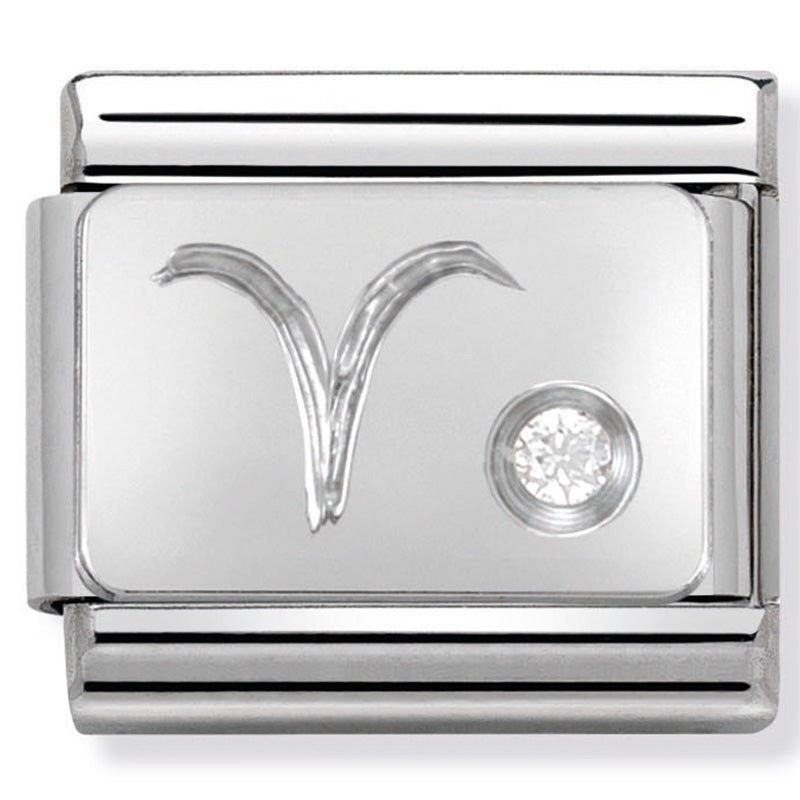 Nomination Aries Silver Charm
