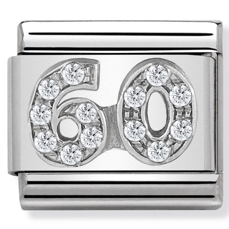 Nomination 60 CZ Silver Charm