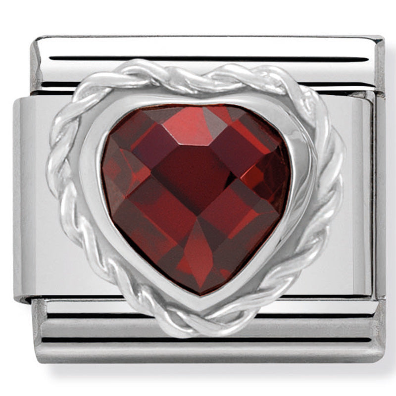 Nomination 330603/005 Red Heart Charm