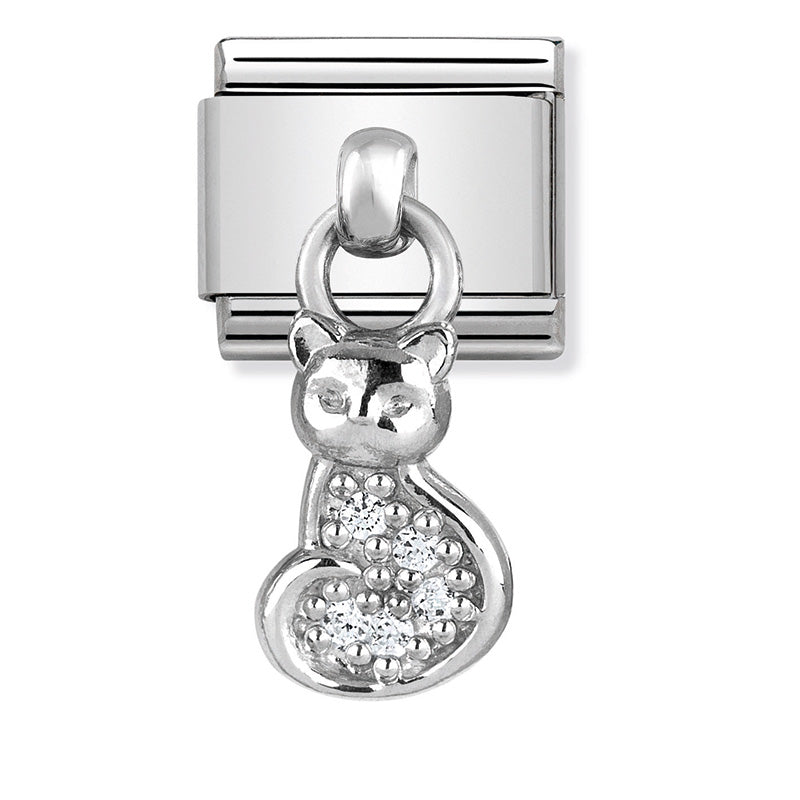Nomination Cat Dangle Charm