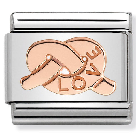 Nomination Love Rose Gold Charm