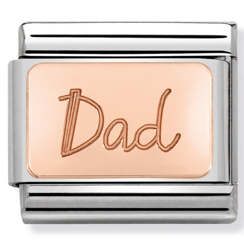 Nomination Dad Rose Gold Charm