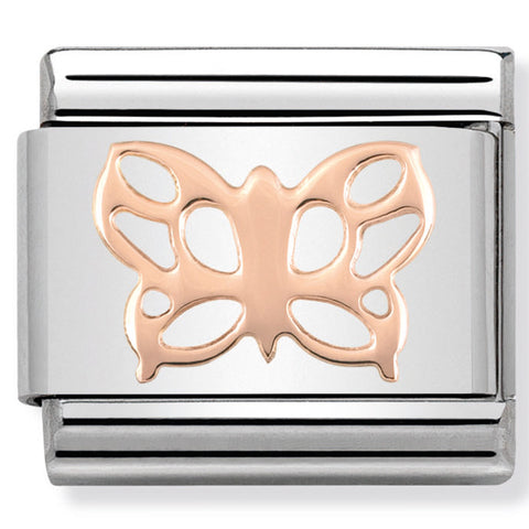 Nomination Butterfly Rose Gold Charm