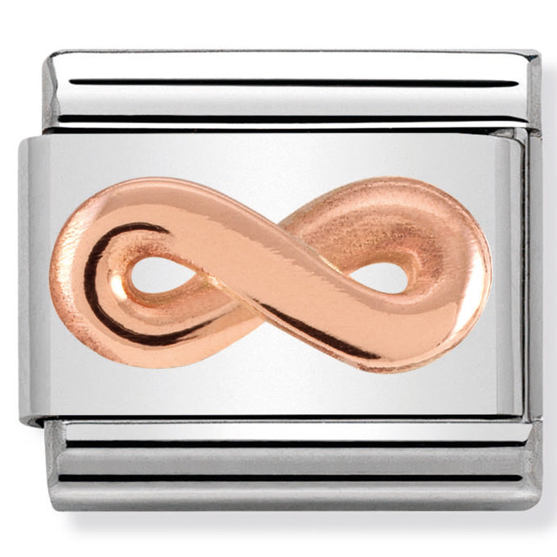 Nomination Infinity Rose Gold Charm