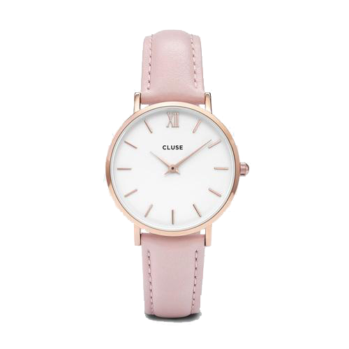 Minuit Rosegold White/Pink Watch