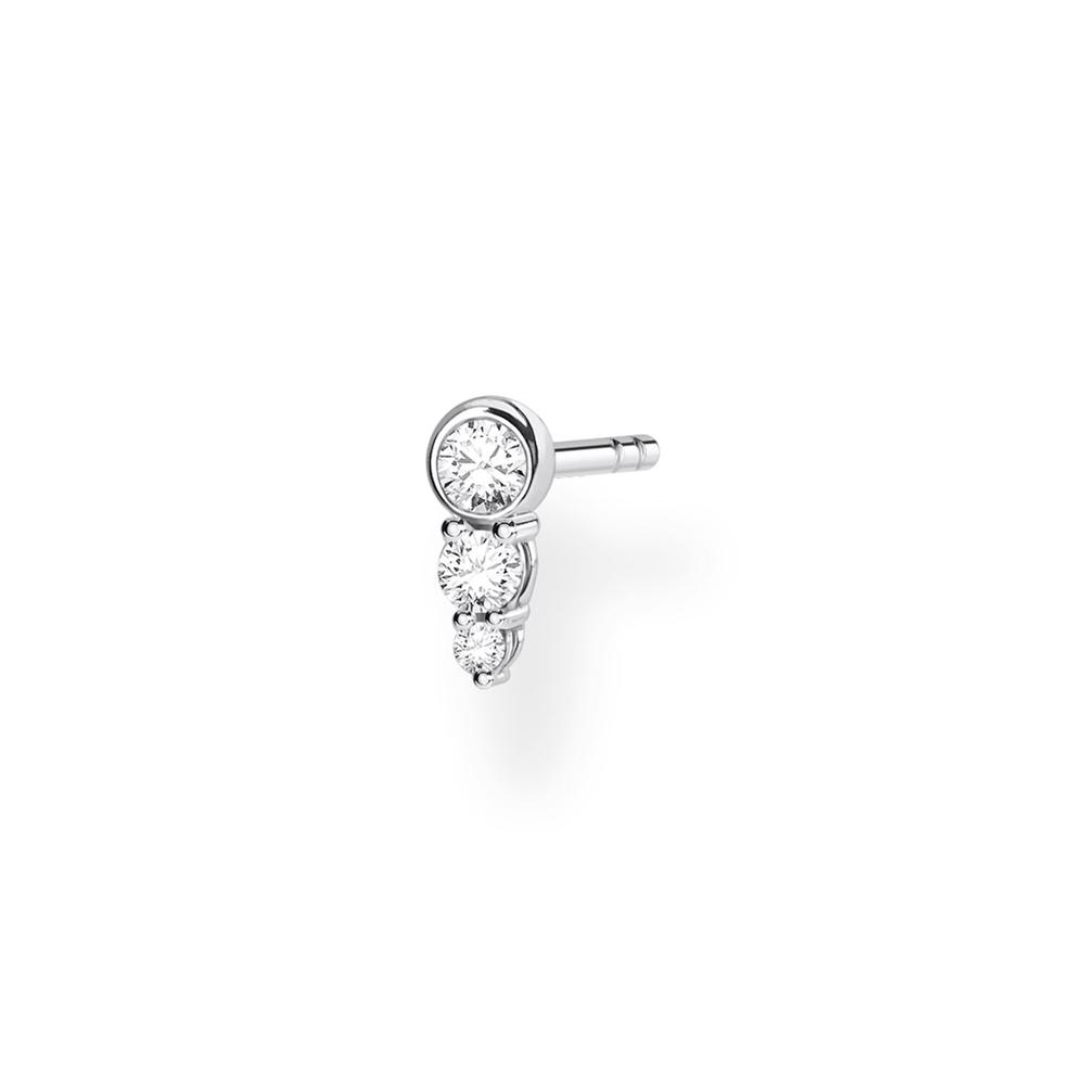 3 CZ Ear Stud (Single)