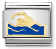 Nomination 030259 18 Swimmer Charm