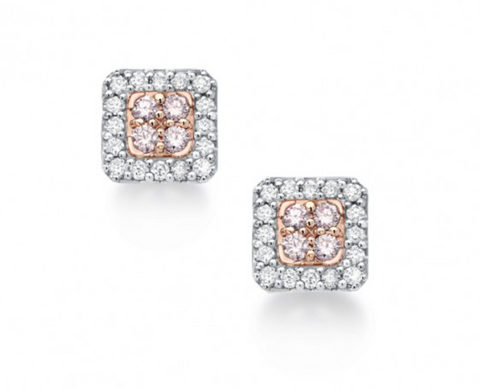 Blush Pink Diamond Tess Earrings