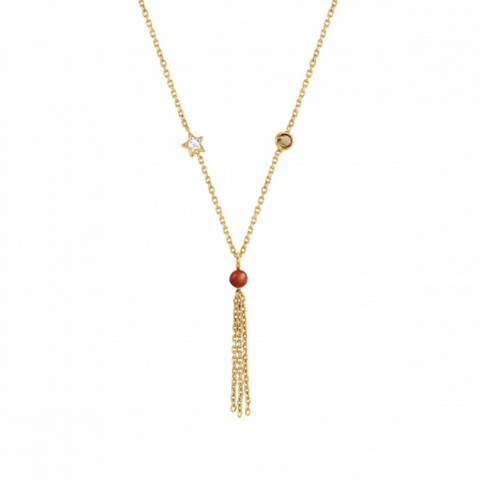 BELLA DREAM NECKLACE IN GOLD WITH PENDANT