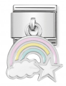 Nomination 331805/17 Rainbow Charm