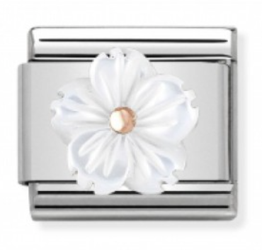 Mother of Pearl Bloom Charm