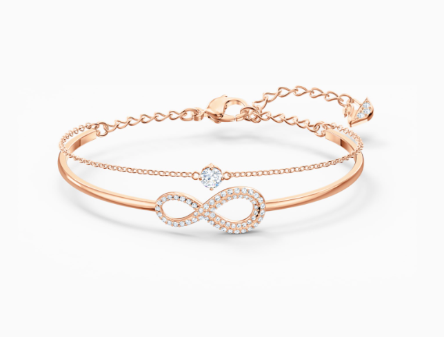 Infinity Rosegold Bangle