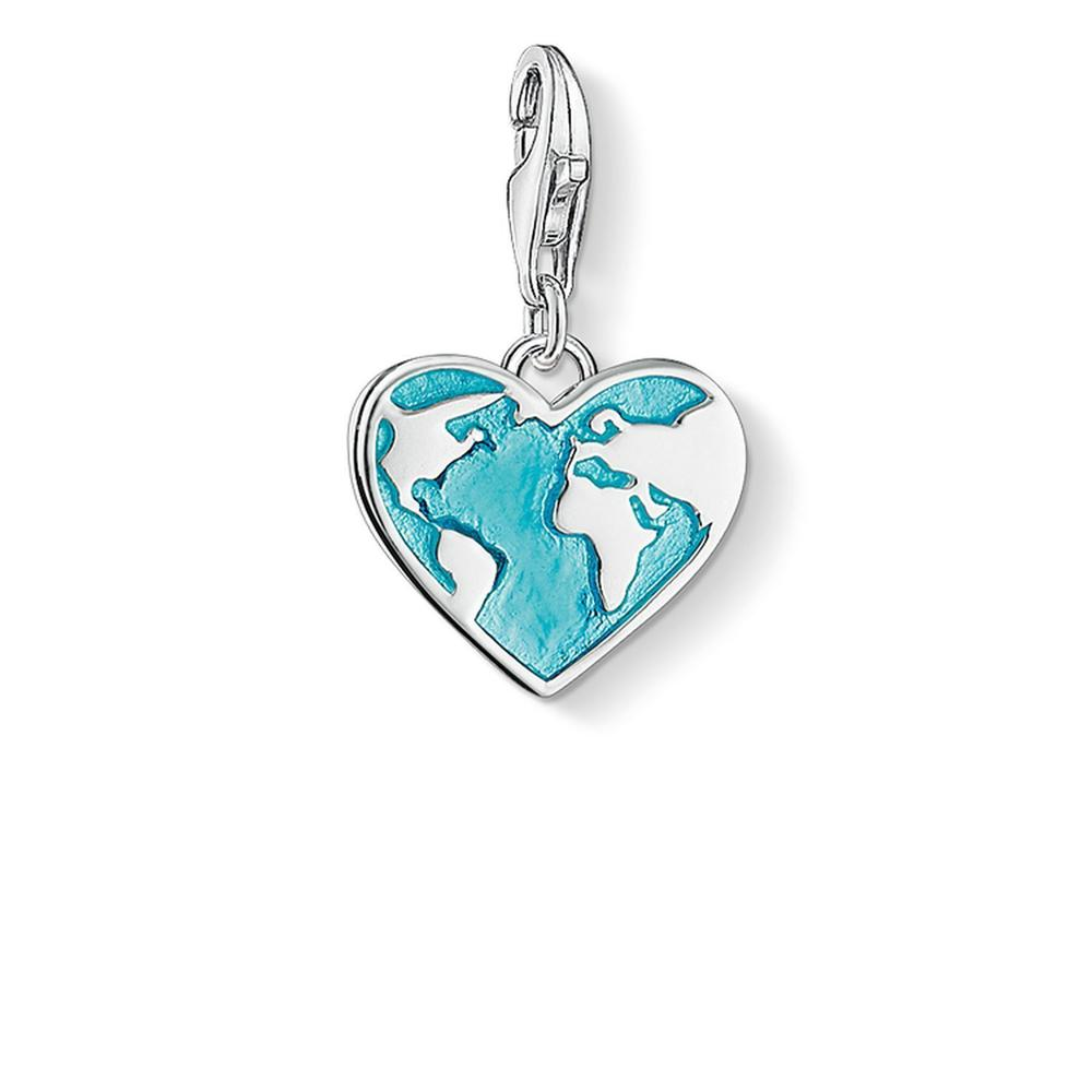 Heart of the World Charm