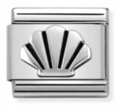 Nomination 330101/30 Seashell Silver Charm