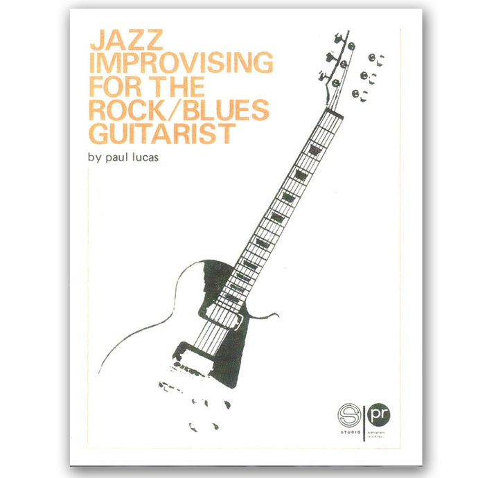 1. Jazz Improvising for the Rock / Blues Guitarist