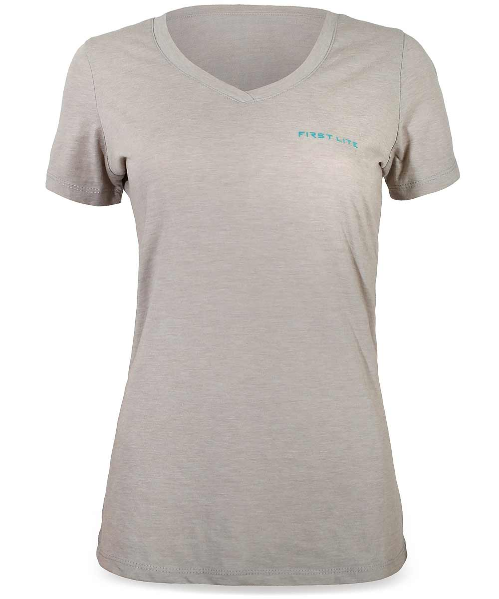 Horizontal Logo Women's V-Neck
