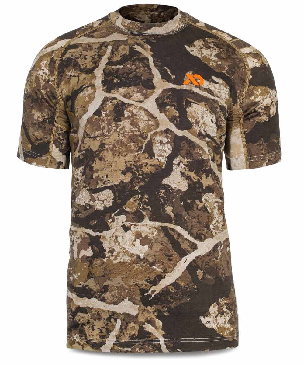 146790b23d83e Men's Wick Short Sleeve Crew – First Lite Performance Hunting