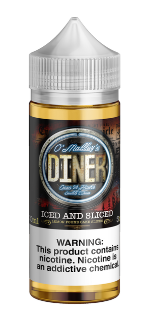 Omally's Diner     Iced and Sliced 120ml