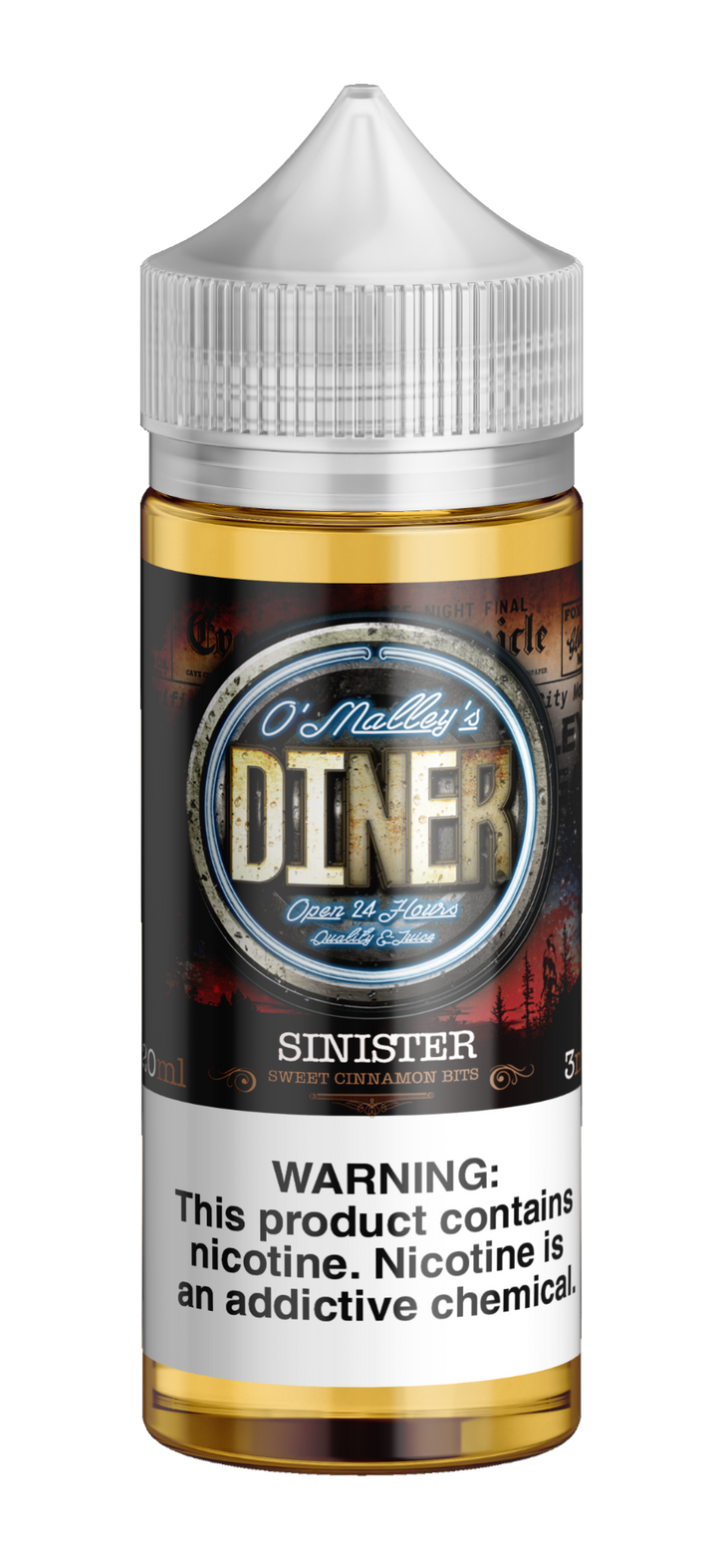 Omally's Diner Sinister 120ml
