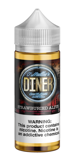 Omally's Diner Strawburied Alive 120ml