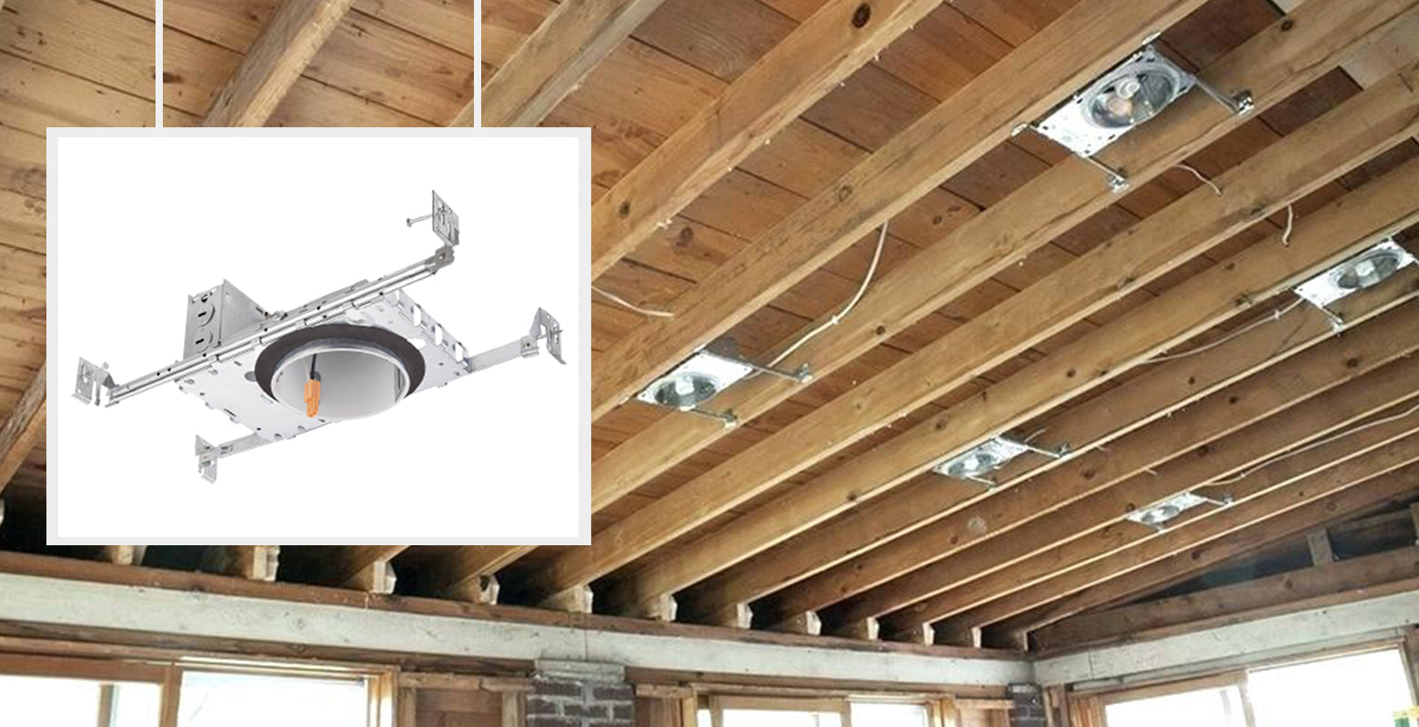 recessed downlight can housing new construction 4 inch