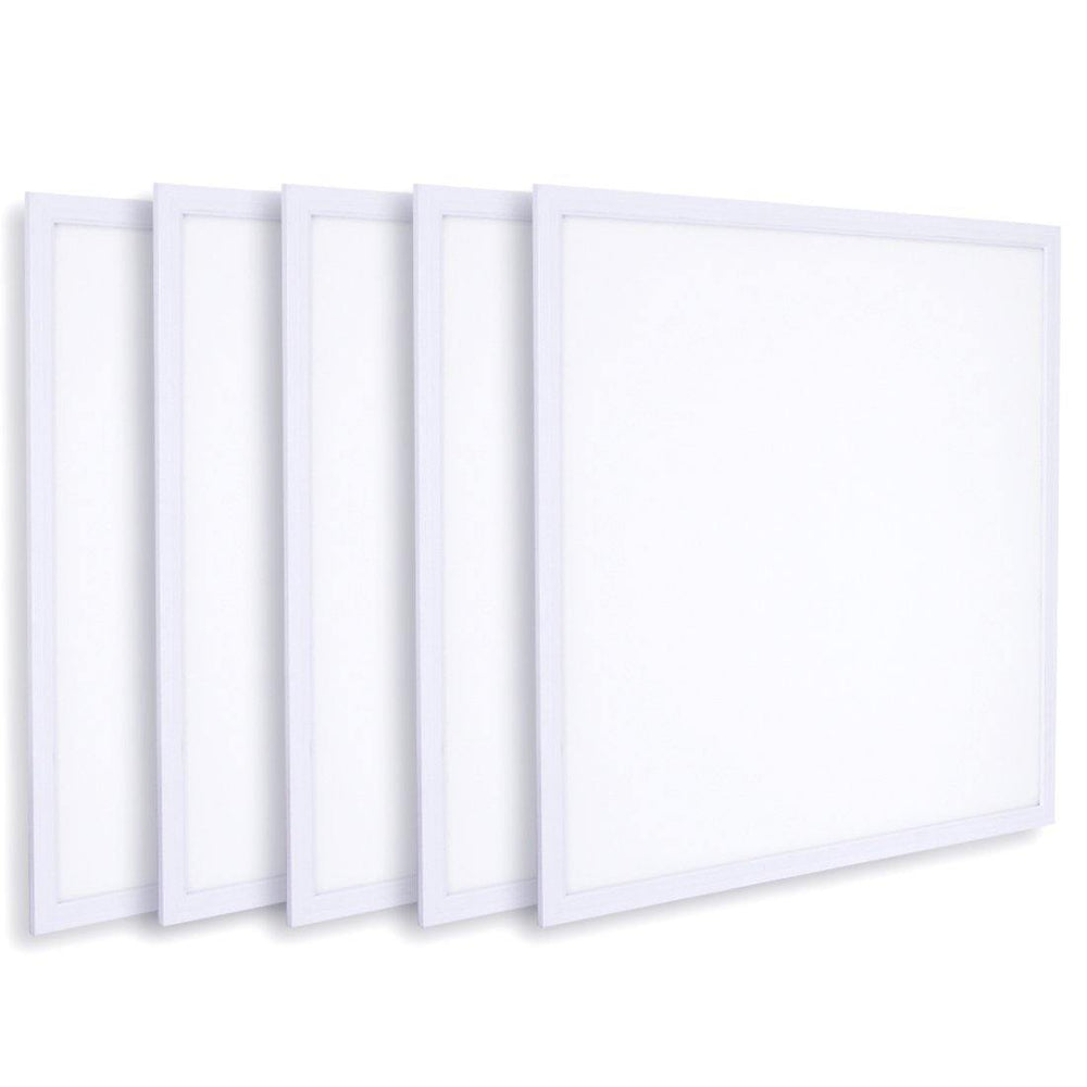LED Flat Panel Lights 2x2 Ft 6000k 5-pack