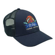 SPFO Dark Moon Simms Blank Trucker Hat