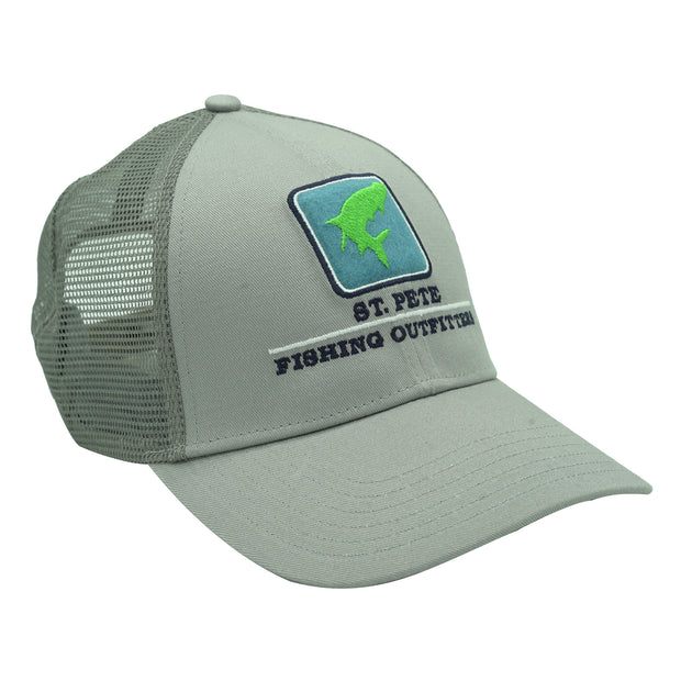 SPFO Granite Simms Tarpon Icon Trucker Hat