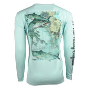 SPFO Florida Kingfish L/S - Light Blue
