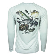 SPFO Trash Can Slam L/S - Grey