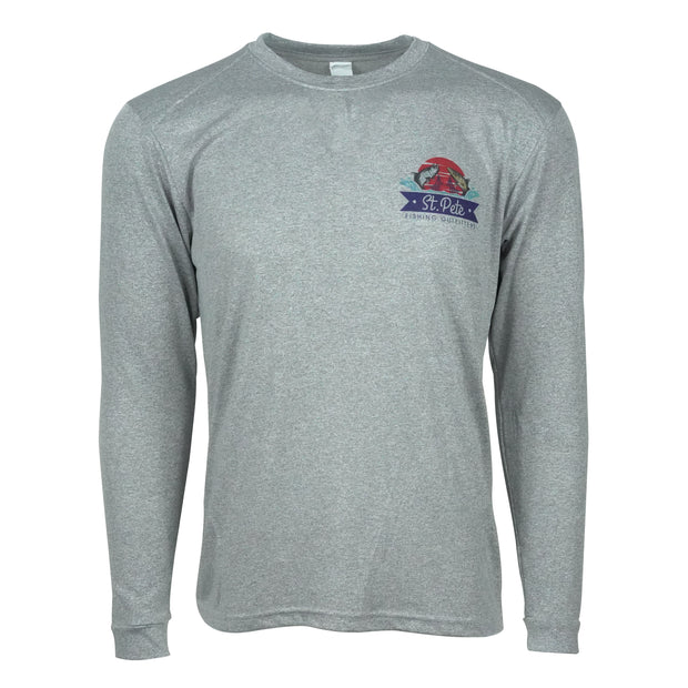 SPFO Inshore Slam  L/S - Dark Grey