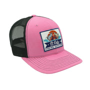 SPFO Pink&Black Mesh Patch Hat
