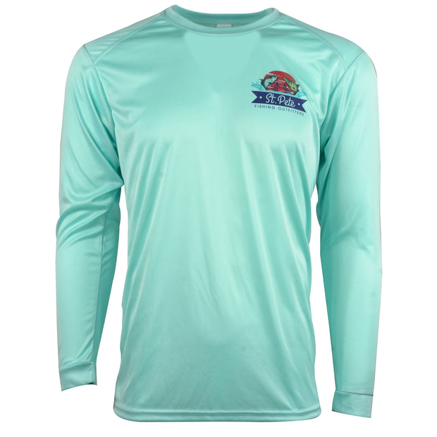SPFO Jstock West Coast Slam L/S - Aqua Blue