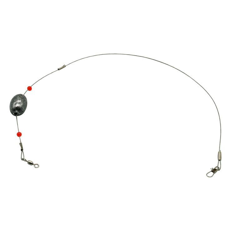 Joy Fish Stainless Steel Redi-Rig With Snap - Lee Fisher Sports