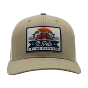 SPFO Tan & White Trucker Hat