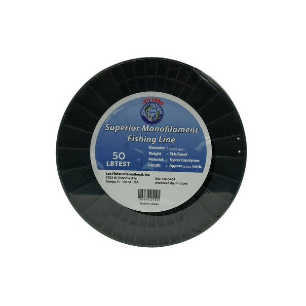 Joy Fish Monofilament Fishing Line - 5 LB Spool - Lee Fisher Sports