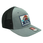 SPFO Grey&Black Flexfit Patch Hat