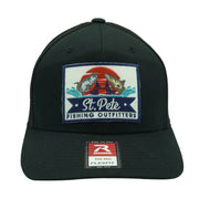 SPFO Black Flexfit Patch Hat
