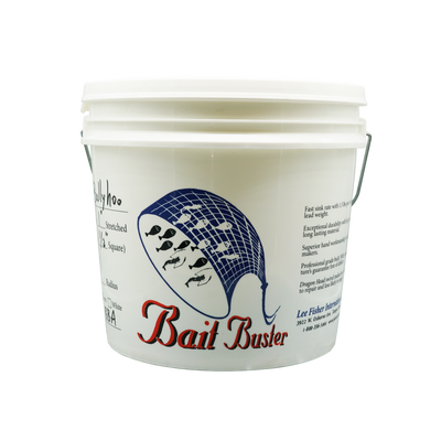 "Bait Buster Cast Net - 1/2"" Sq. Ballyhoo Mesh - Lee Fisher Sports"